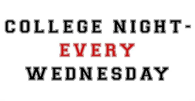 College Night at Craft Axe Throwing   Every Wednesday!