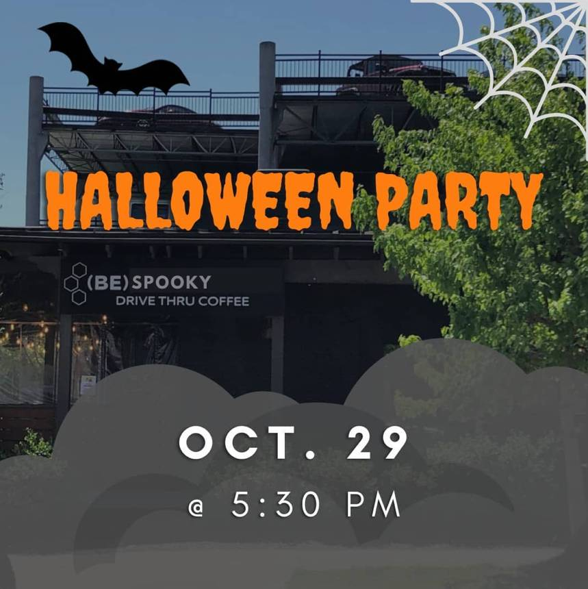 (Be)Caffeinated Halloween Party!