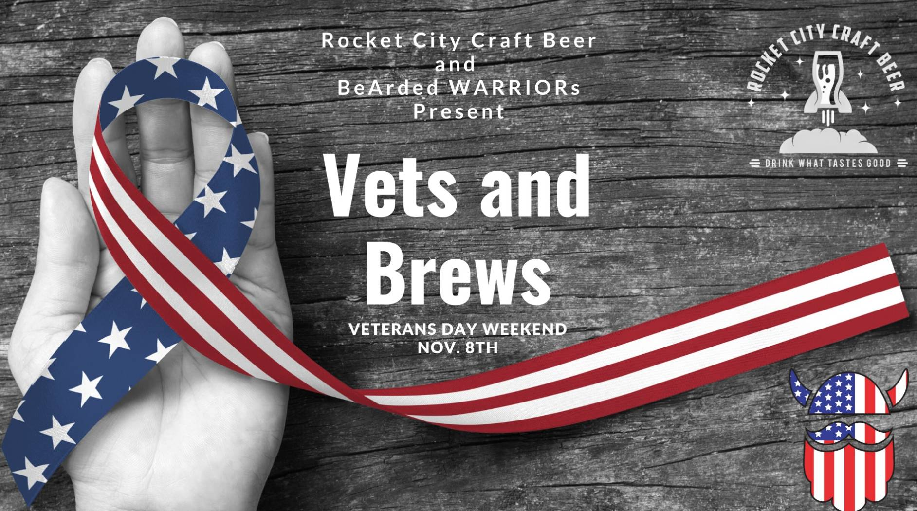 Vets and Brews with BeArded WARRIORs