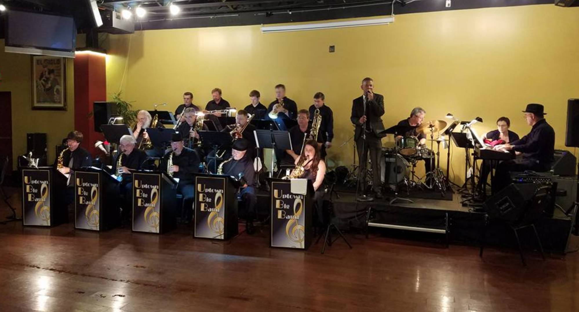 Live Music w/ The Uptown Big Band