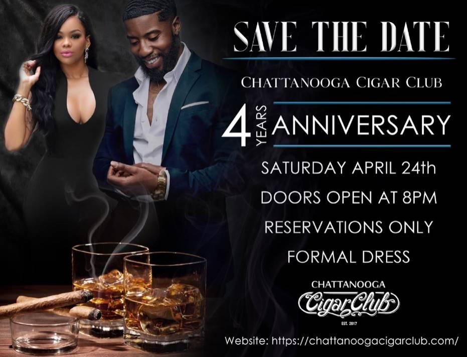 Chattanooga Cigar Club 4 Years Anniversary!