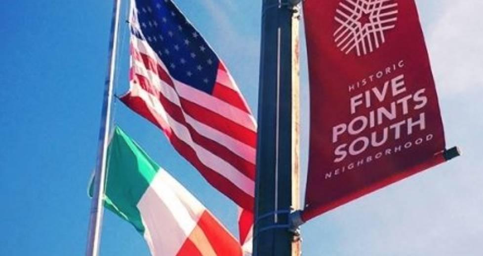 5th Annual Irish Flag Raising