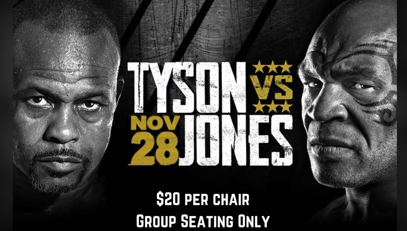 Tyson vs. Jones