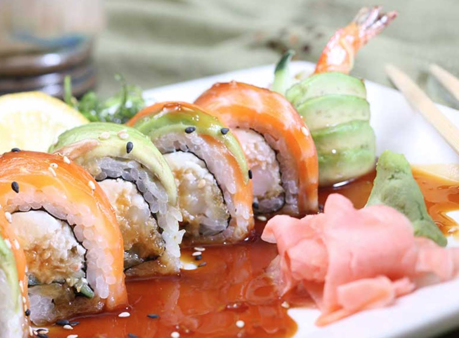 1/2 Off Sushi Night & Happy Hour (3-6)
