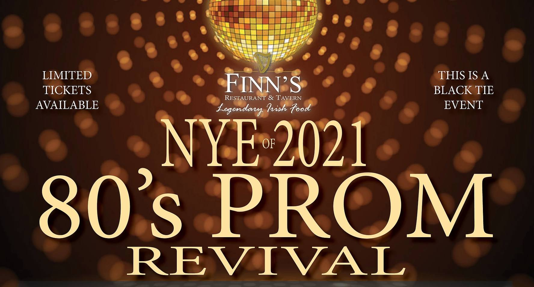 NYE 80s Prom Revival