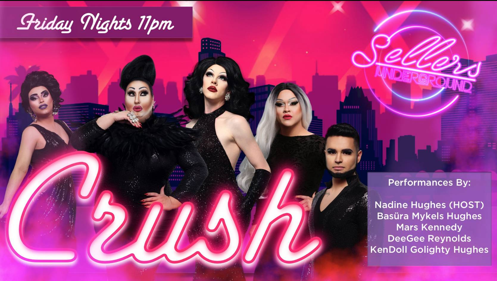 CRUSH Drag Show