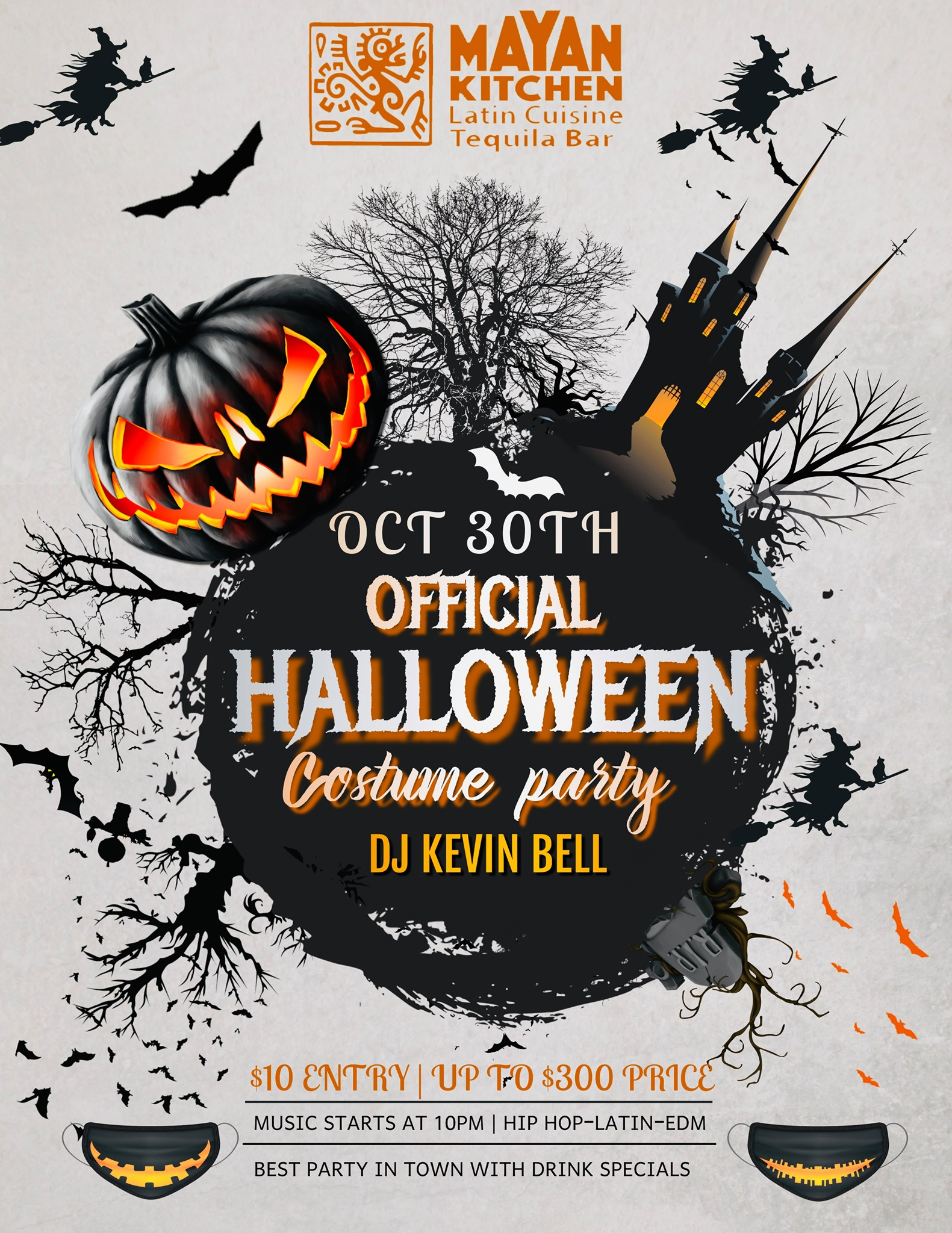 Official Halloween Costume Party!