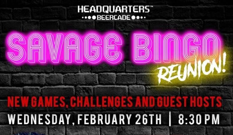 Savage Bingo Reunion