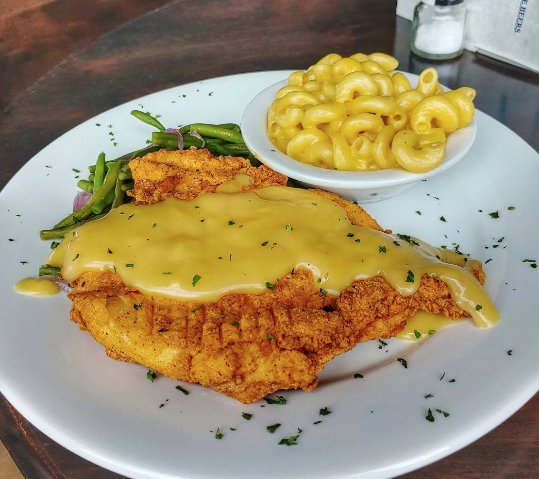 Thursday Lunch Special: Chicken Fried Chicken