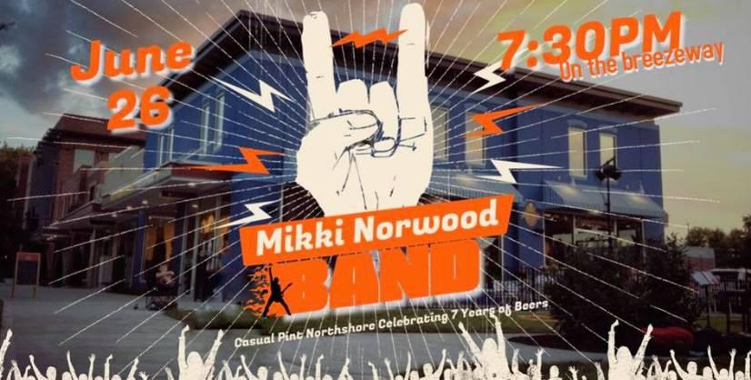 The Mikki Norwood Band!
