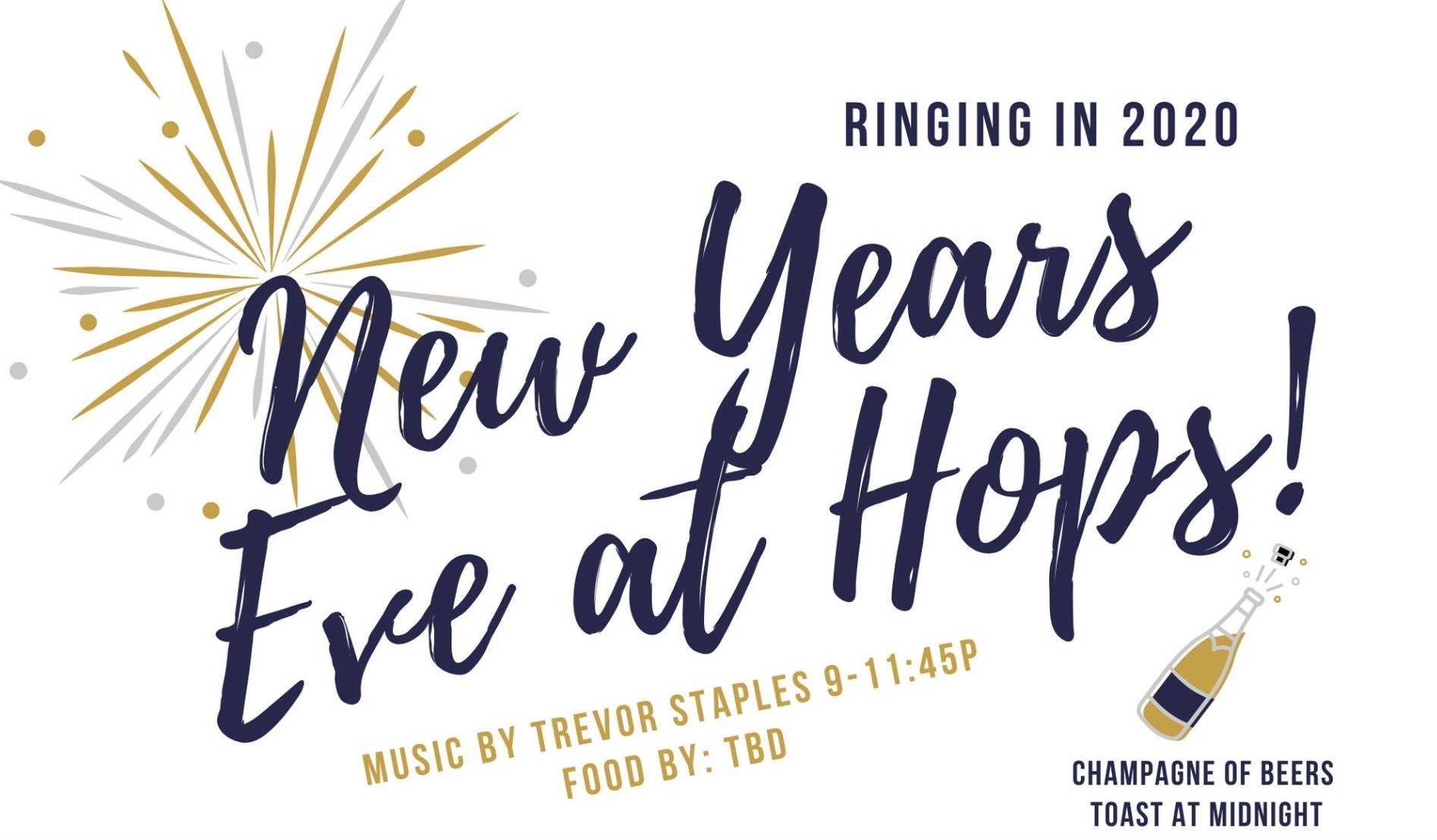 New Years Eve with Trevor Staples