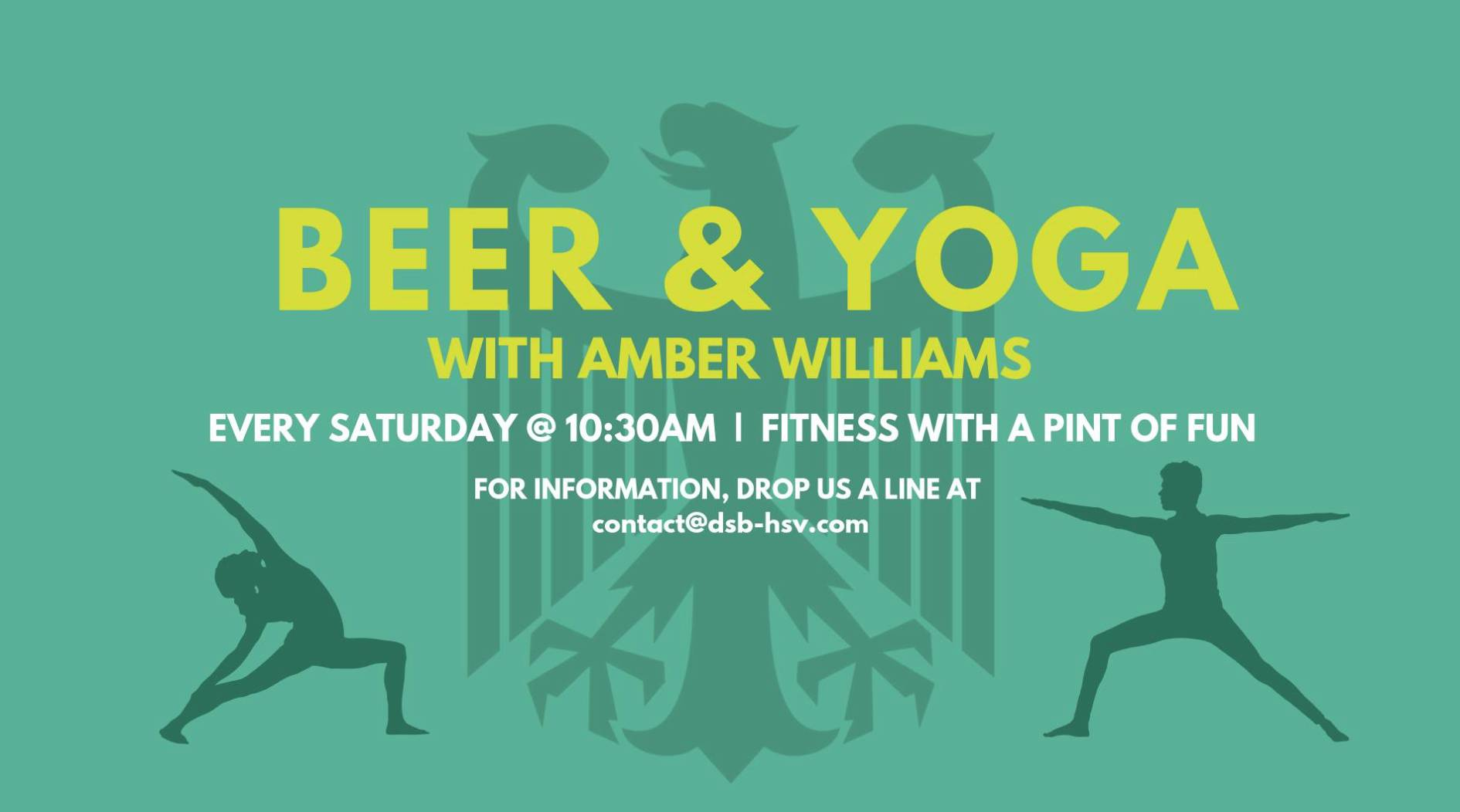 Beer & Yoga with Amber Williams