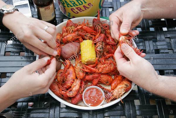 All You Can Eat Crawfish Night