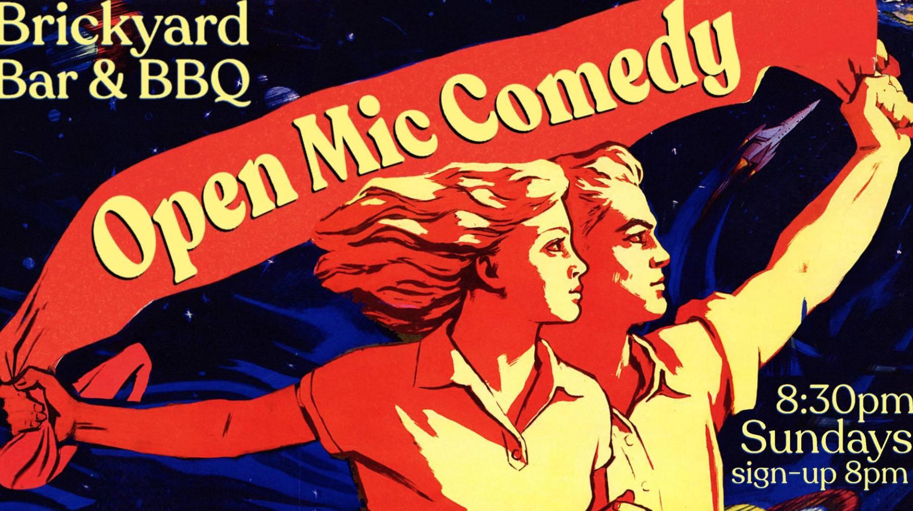 Open Mic Comedy Night 🎤