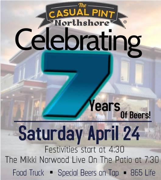 Celebrating 7 Years of Beers!
