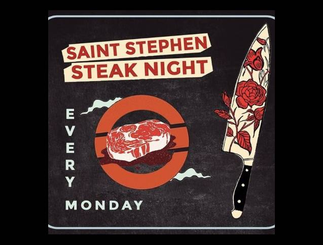 Steak Night Mondays