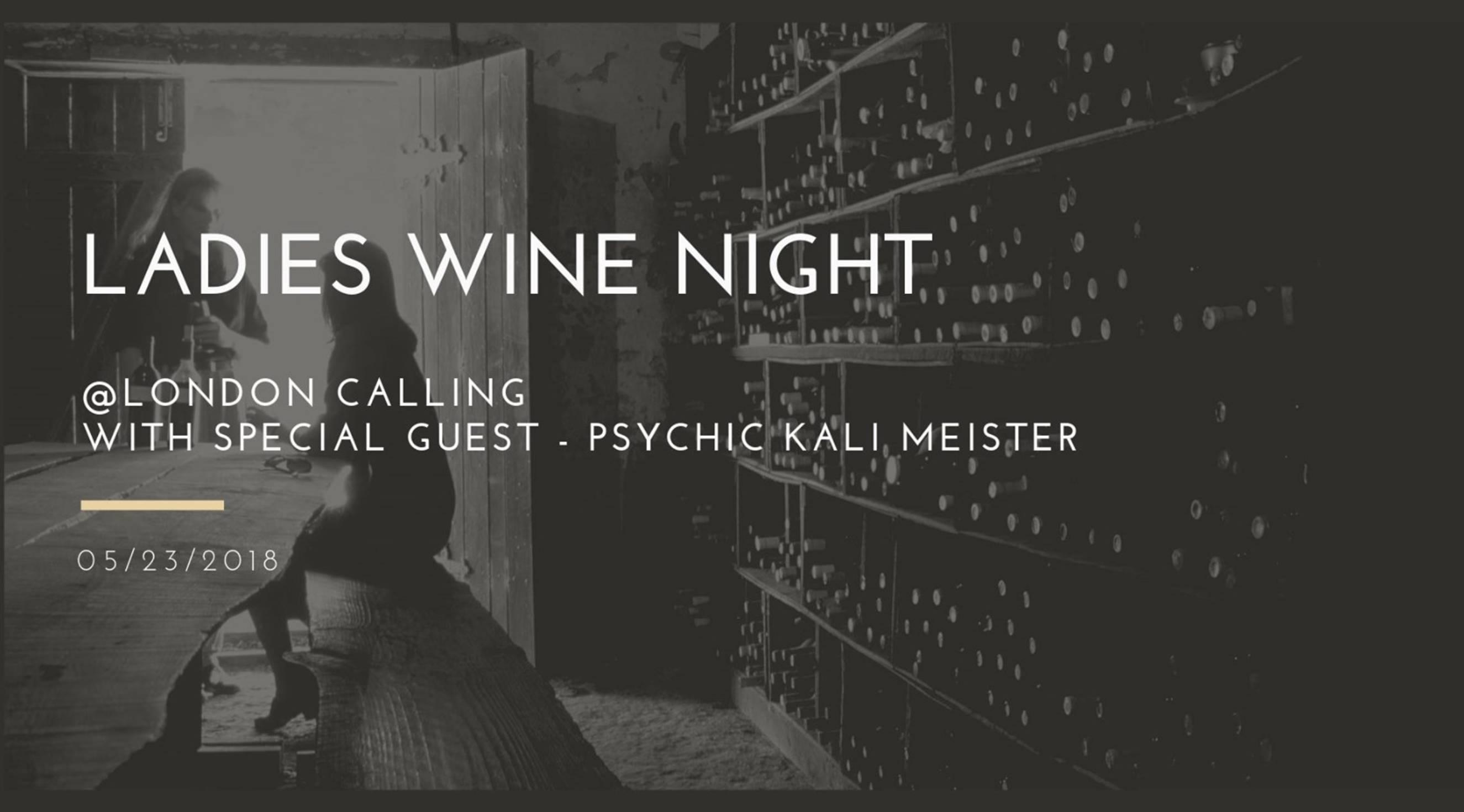 Ladies Wine Night w/ Palm Reading & Tarot