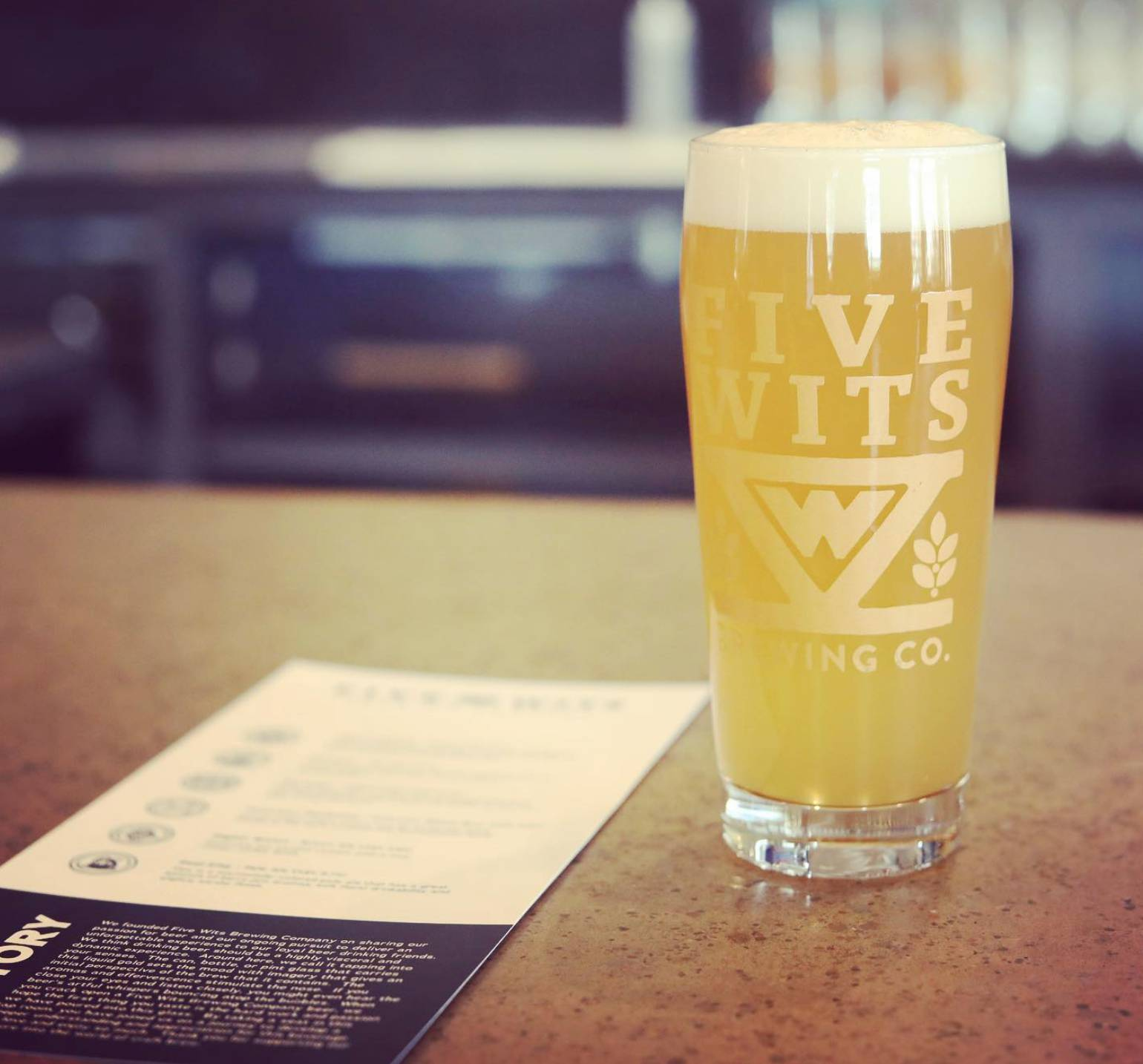 Growler Promo w/ Five Wits Brewing