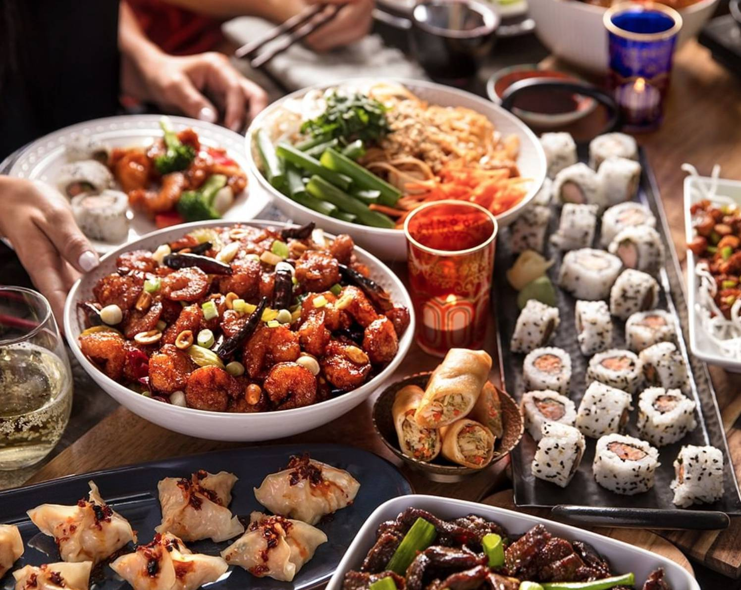 Free Delivery or 15% off Takeout