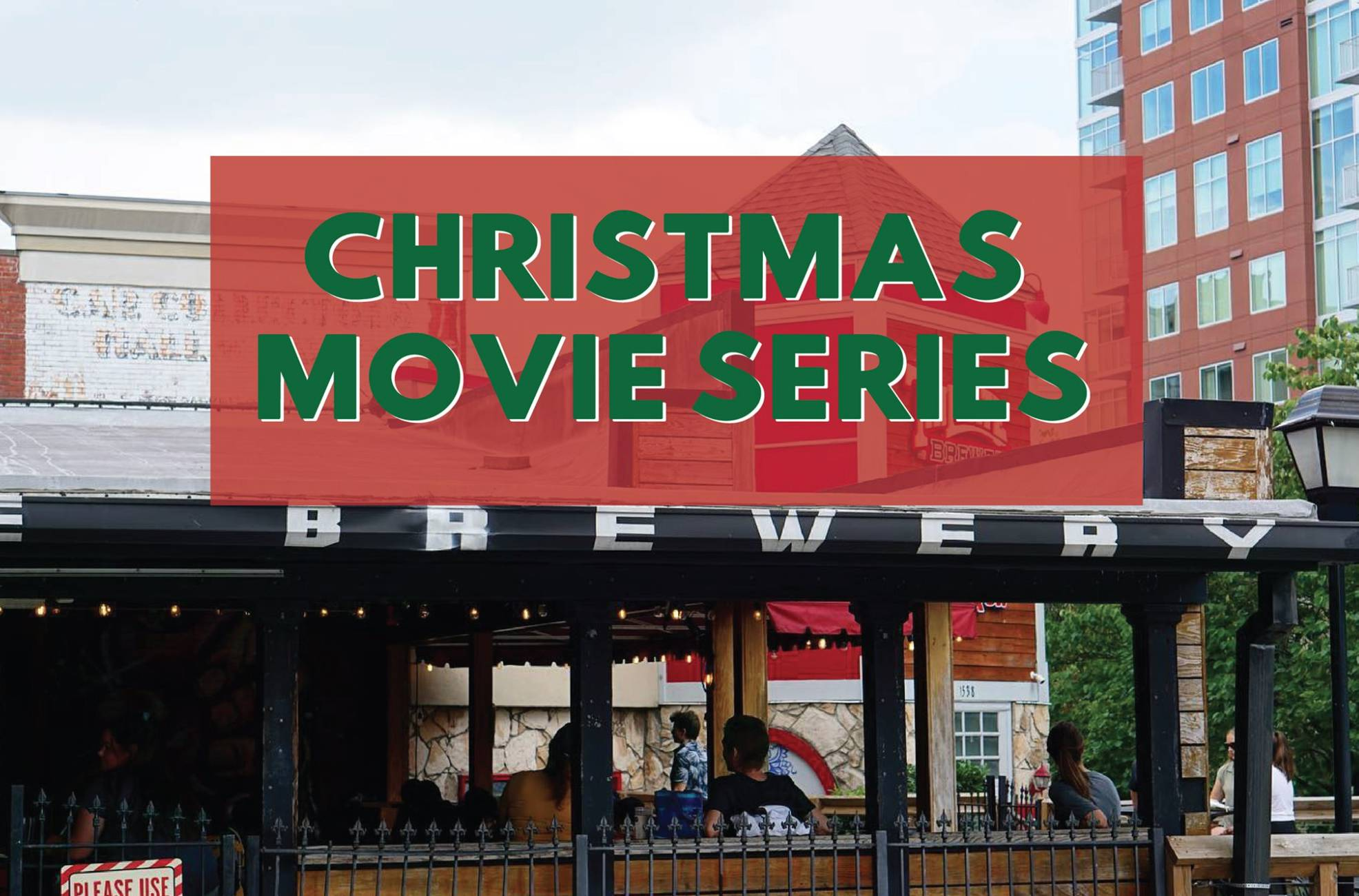 Holiday Movie Series on the Patio