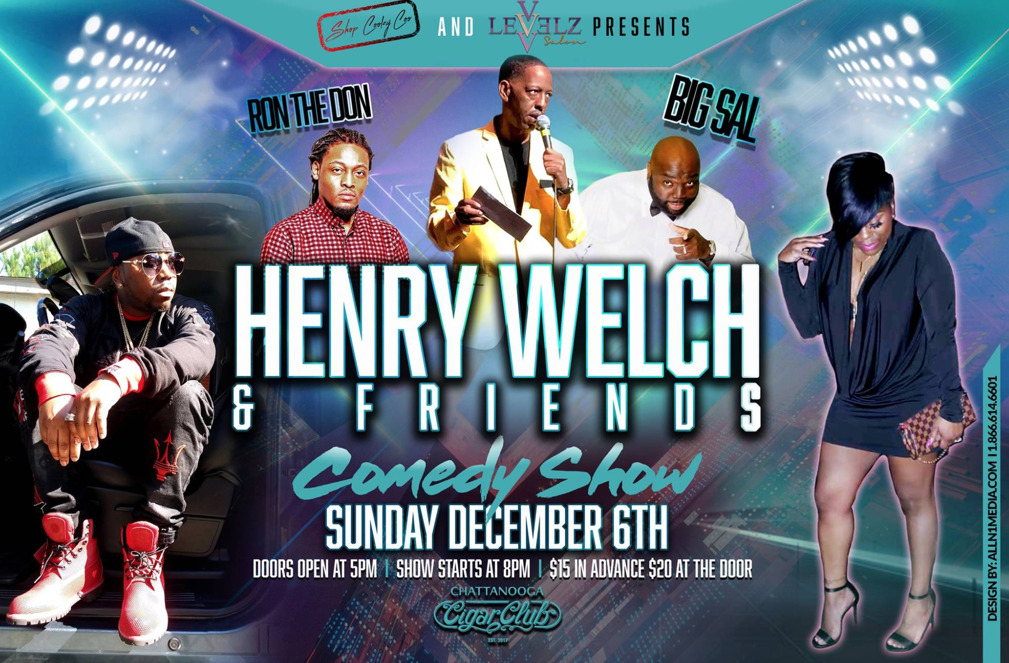 Henry Welch & Friends Comedy Show
