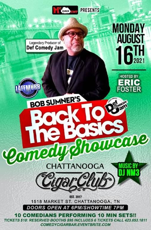 Bob Sumner's - Back to the Basics Comedy Show