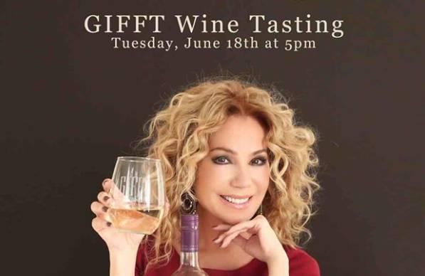 GIFFT Wine Tasting w/ Kathie Lee Gifford