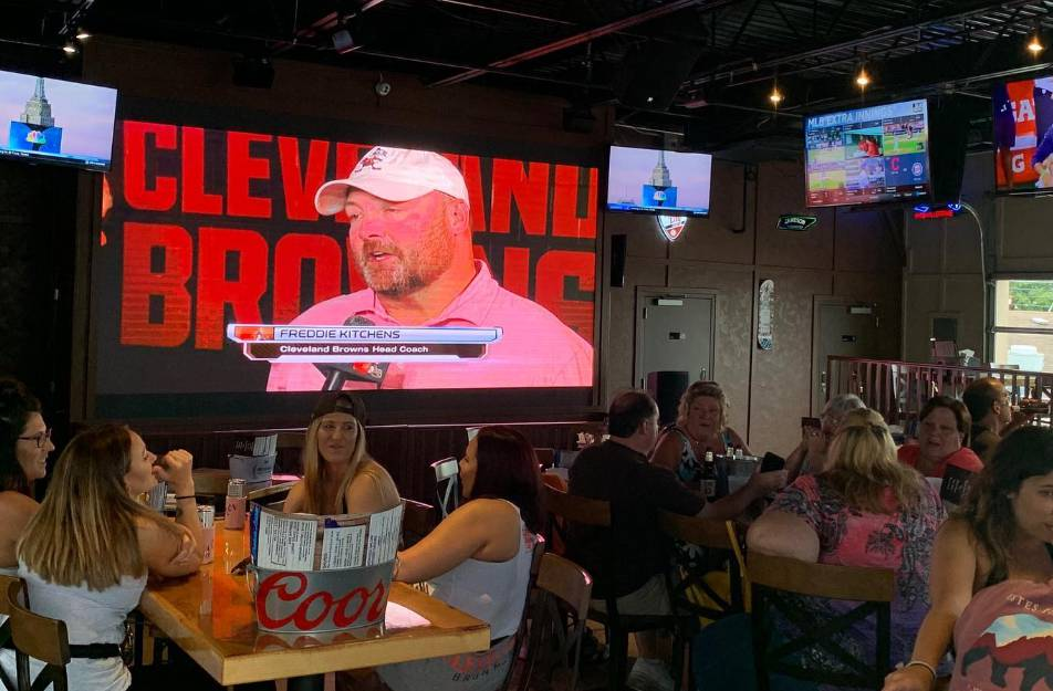 Cleveland Brown's Watch Party