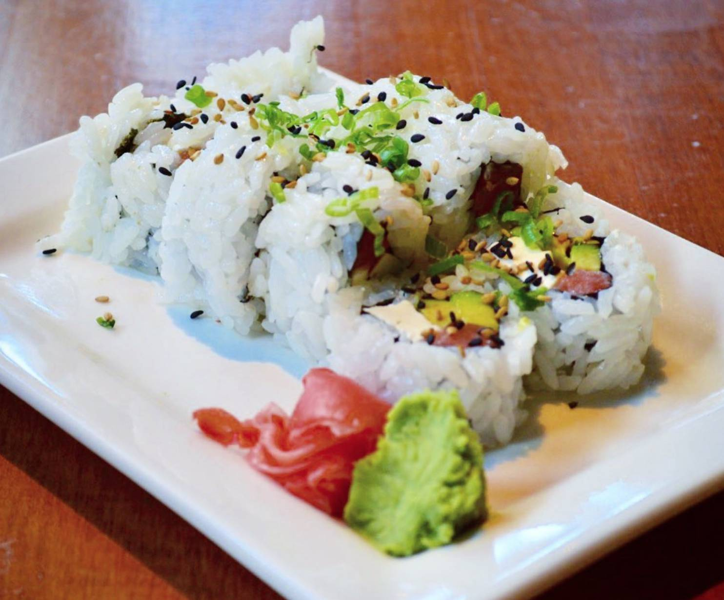 Half off Sushi Night & Happy Hour (3-6)