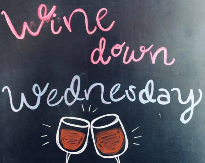 Wine Down Wednesday 🍷
