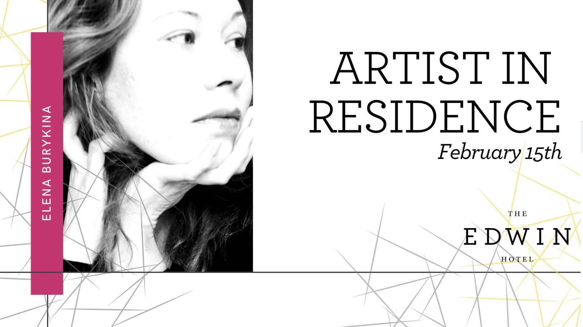 Artist in Residence: Elena Burykina