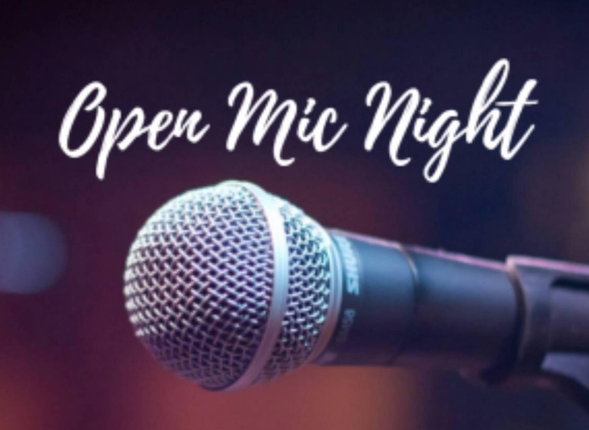 Open Mic Night 🎤