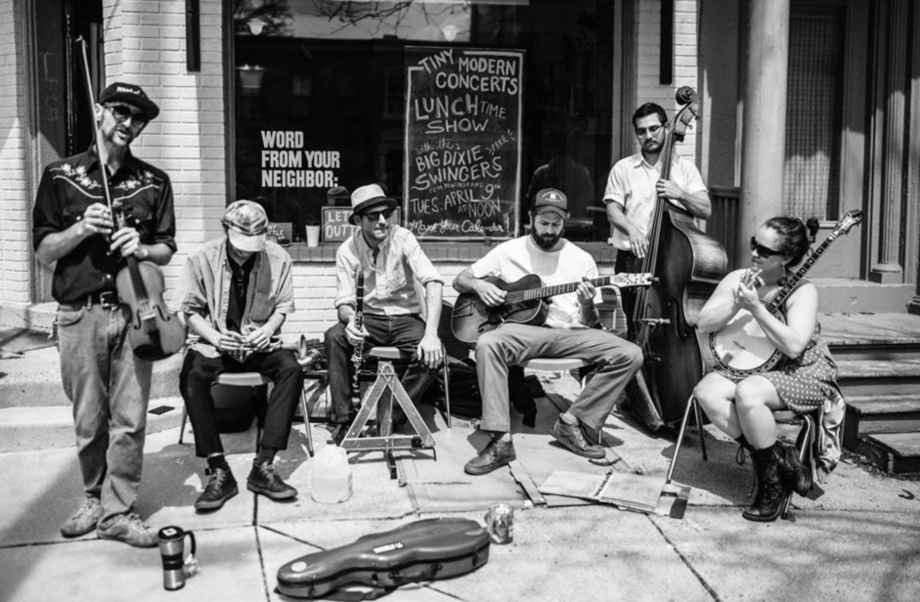 The Big Dixie Swingers w/ Red Mountain Jug Band
