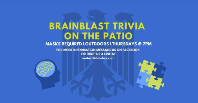 Brainblast Trivia On The Patio