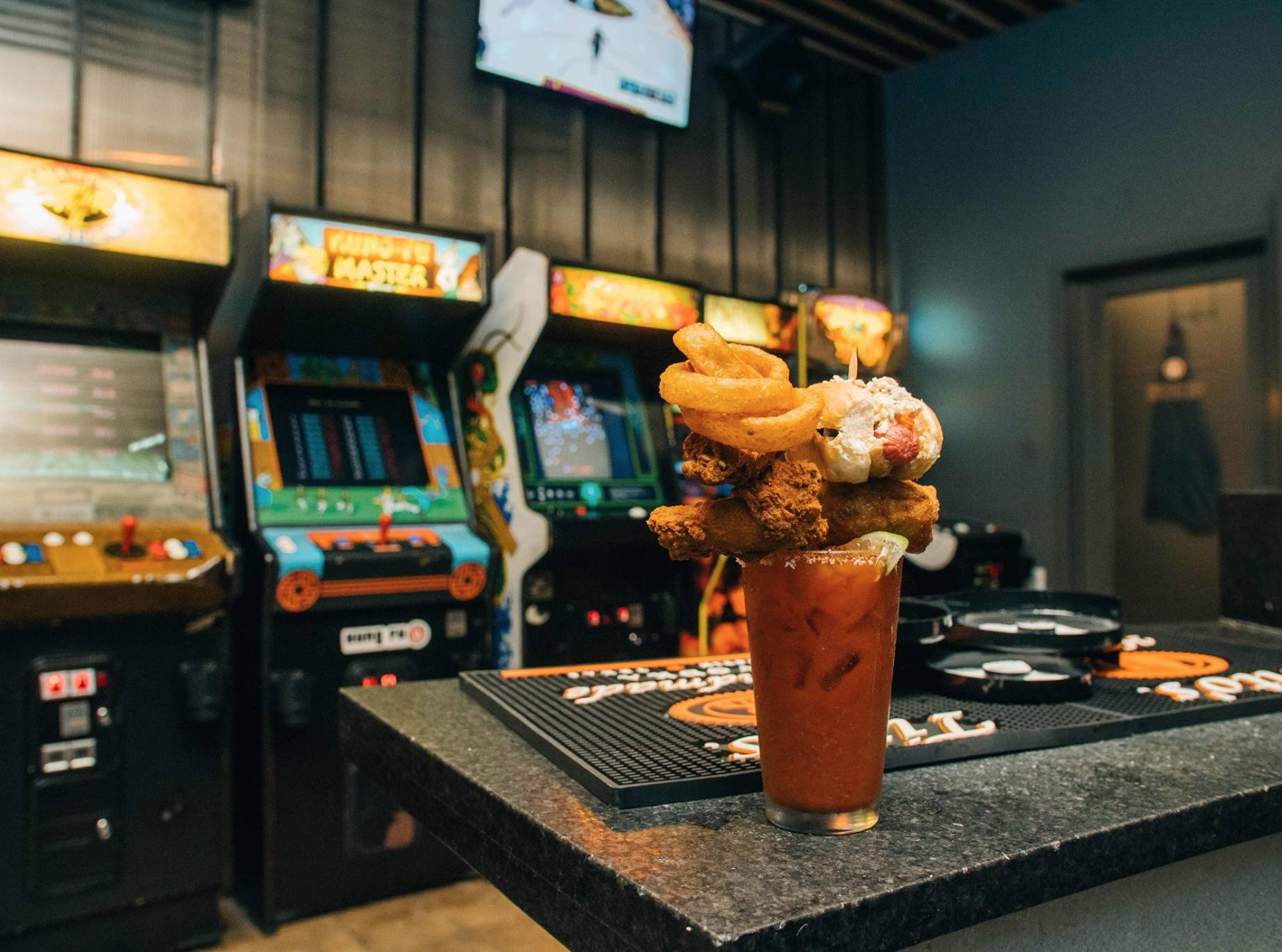 Bloody Mary Bar & Happy Hour