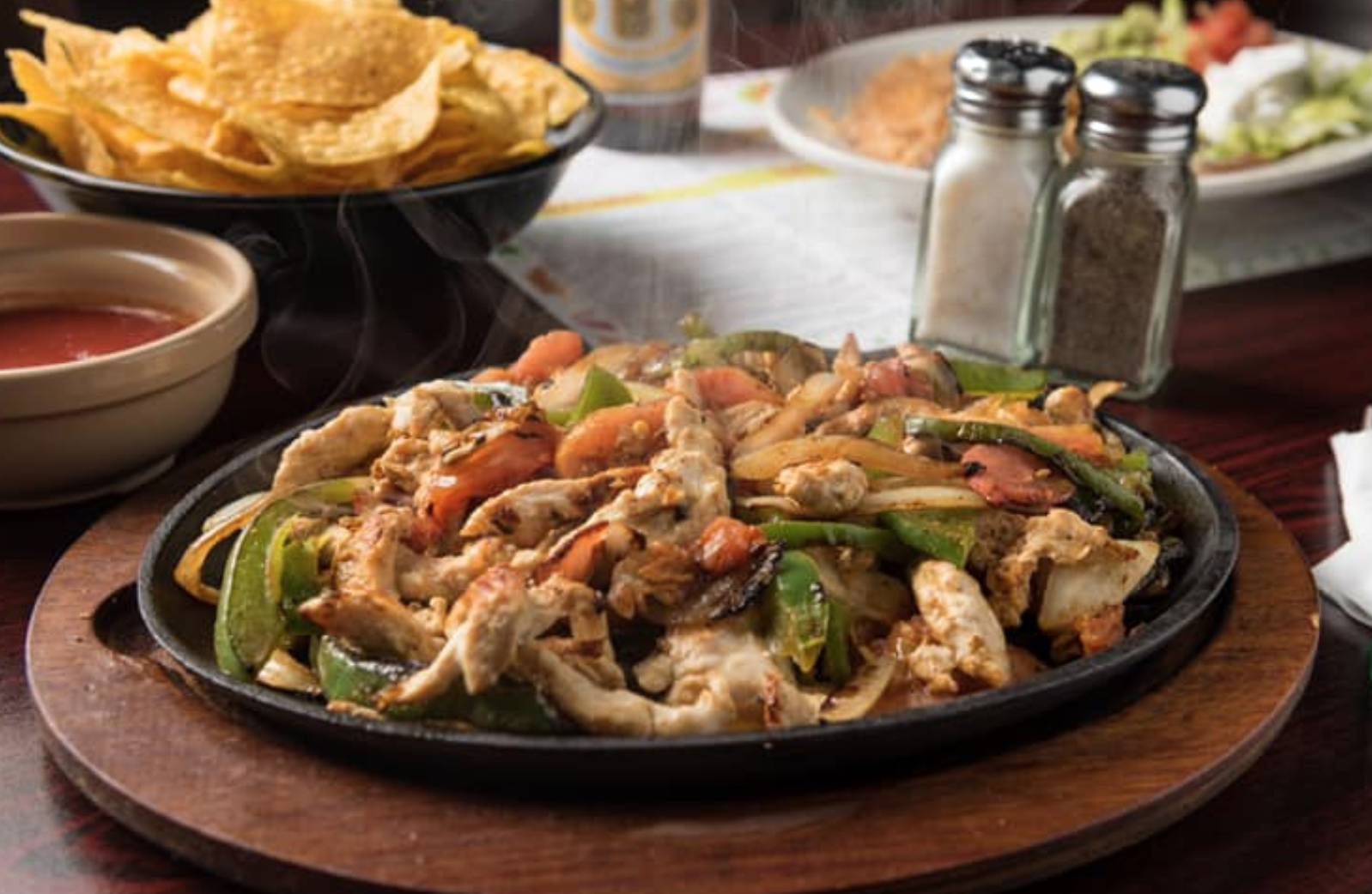 Fajita Night (5pm) & Happy Hour (2-6)