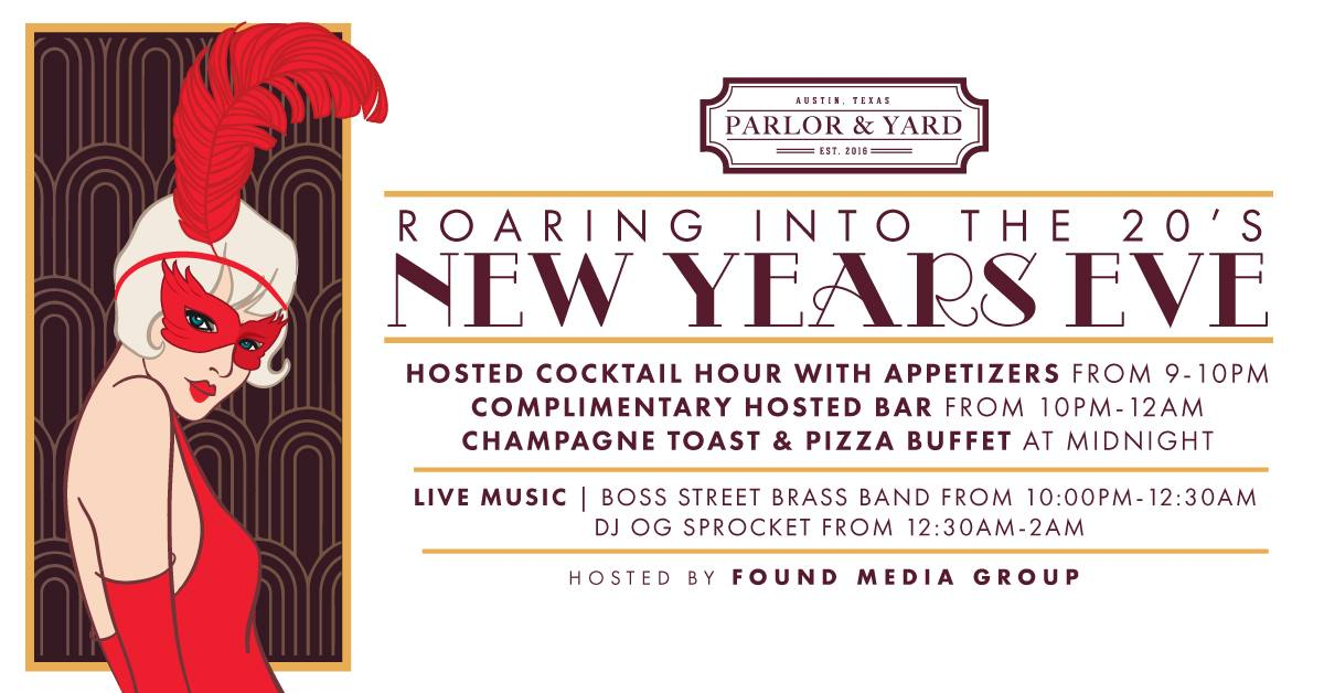 NYE 2019: Roaring into the 20's