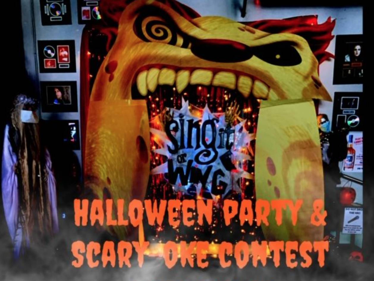 Halloween Party & Scary Oke Contest