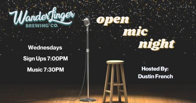 Open Mic Night - Every Wednesday
