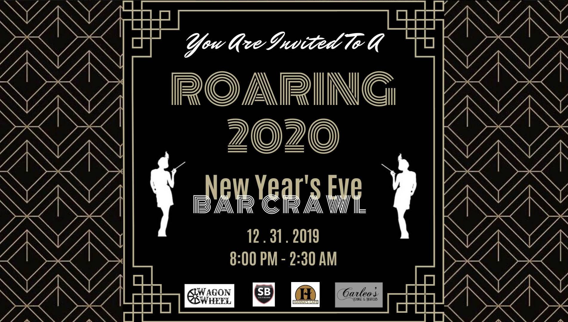 New Years Eve 2020 Bar Crawl