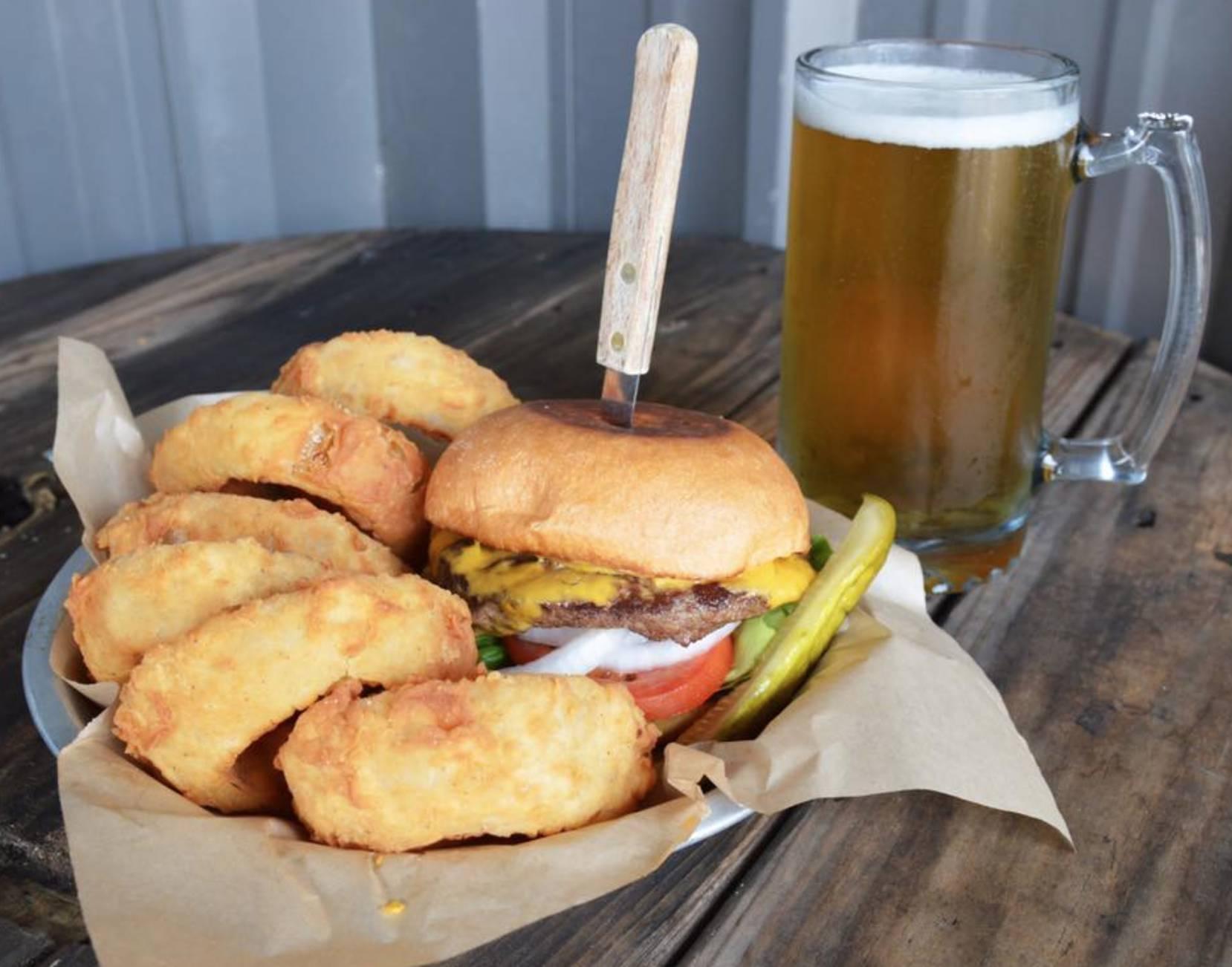 Half off Burger Day & $4.50 Big Ol' Beers