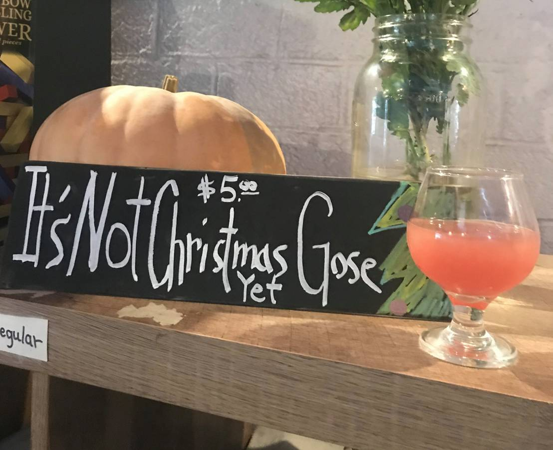 Apple and Spices Holiday Gose Releases