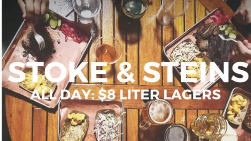 $8 Big Liter Beers & BBQ