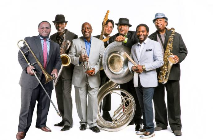 The Dirty Dozen Brass Band w/ Tragic City