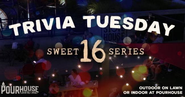 Tuesday Trivia Presented by Pourhouse