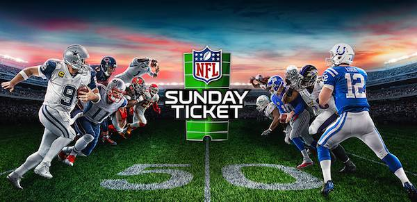 NFL Sunday Ticket & All Day Happy Hour