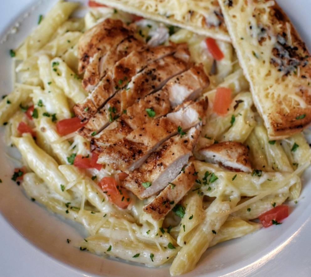 Wednesday Lunch: Chicken Alfredo