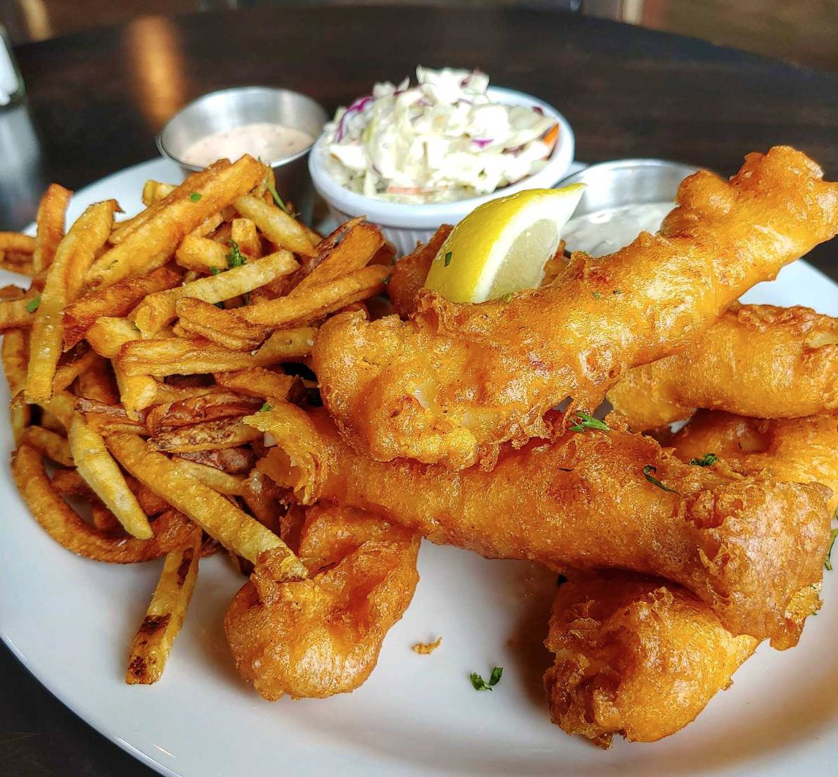 Friday Lunch Special: Fish 'n Chips