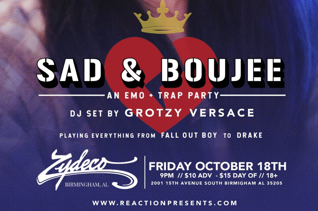 Sad & Boujee: Emo Meets Trap Dance Party