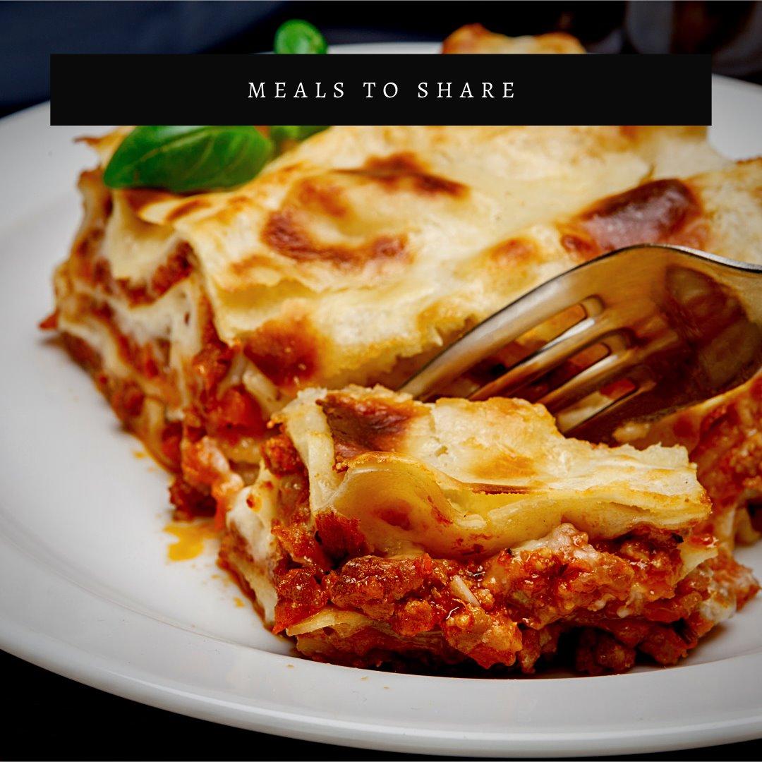 Thursday $8 Lunch Special! Lasagna & Salad